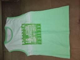 Camiseta regata tamanho 14