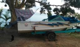 Barco e Reboque (Usado)