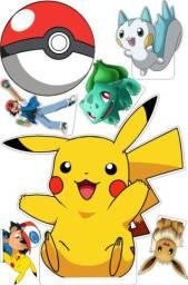 Display Decorativo Pokémon 9 Peças