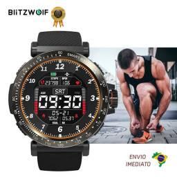 Relógio Smartwatch Blitzwolf BW-AT1 Lançamento Monitoramento Completo + Notificações