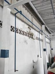 Ar comprimido (tubulação galvanizada pronta para instalar)
