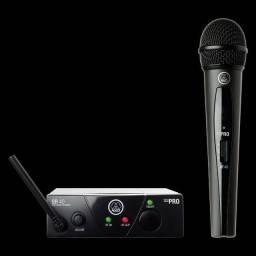 Microfone s/ fio AKG - WMS40 pro (1 ano de garantia de fabrica)