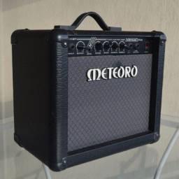 Amplificador Meteoro Nitrous Drive Combo Transistor 30W preto 110V/220V