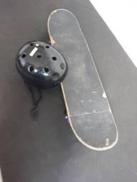 Skate o original com capacete