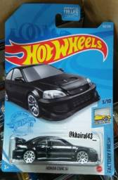 Hot Wheels  Honda Civic Si Preto 2021
