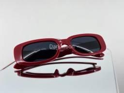 Óculos Louis Vermelho Em Acetato Italiano