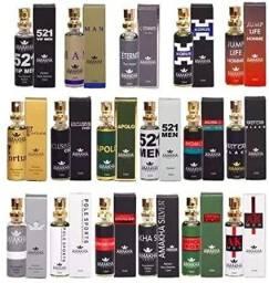 Kit 10 Perfumes Amakha Paris 15 ml - Valor promocional