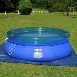 <br>Piscina Mor Splash Fun 2400 Litros R$180,00