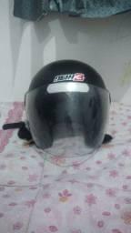 capacete tamanho 58
