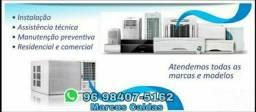 Instalação de central de ar