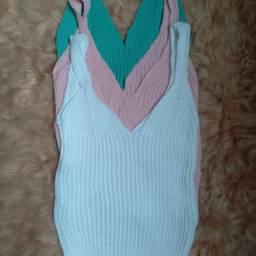 Cropped tricô