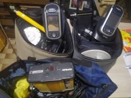 Conjunto de Gnss RTK completo com rádios externos na Base 35w