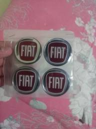 2 jogos adesivo Fiat.