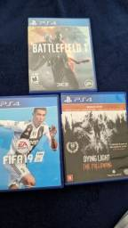 FIFA19, BATTLEFIELD 1 E DYING LIGHT THE FOLLOWING