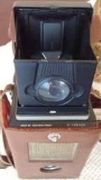 Máquina fotográfica Flexaret. Em raro estado de conservação. Digna para colecionador.