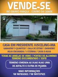 Vende-se casa em Presidente Juscelino Maranhão