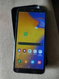 Samsung j6+ somente aparelho e capinha