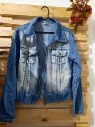 Jaquetas jeans tamanho p e m