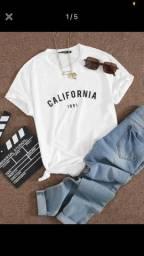T-shirt branca California
