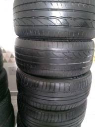 Título do anúncio: Vendo 4 pneus aro 17 225 50 Bridgestone