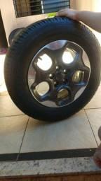 Jogo de rodas + pneus Jeep Renegade aro 16