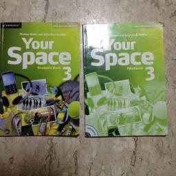 Livro de inglês Your Space 3