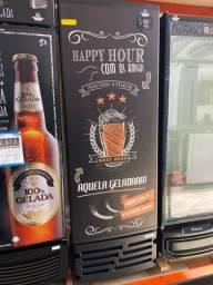 ##% cervejeira porta sólida 7 caixas pronta entrega