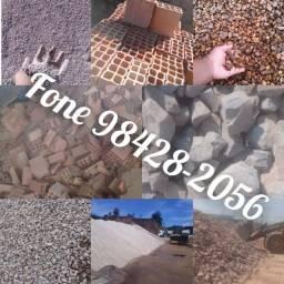 Promoção Areia Tijolos Seixo Brita Pedra Rachão