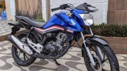 Titan 160 azul 2020