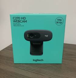 Webcam Logitech C270 720p HD - Nova Lacrada Garantia