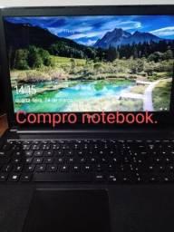 Notebook, mesmo com defeito