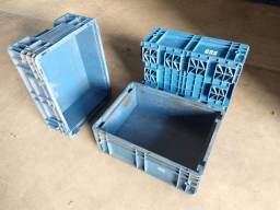 Título do anúncio: Caixa KLT 11L - caixas organizadoras industriais