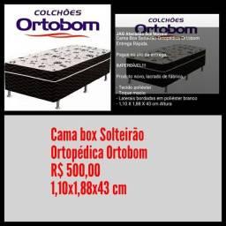 Cama box Solteirão Ortobom / Frete Grátis para maioria dos bairros