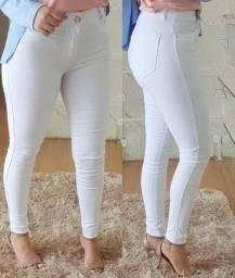 Calça Branca Skinny (Produto Novo)