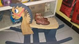 cavalo de balanço grátis botinha n 24