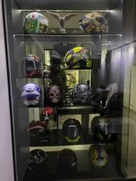 Coleção de capacetes