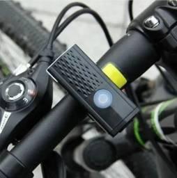 Farol de Bicicleta USB