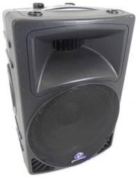 Caixa ativa Phonic PA 450 com Equalizador entrada mic,violao