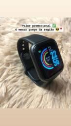Relógio inteligente D20/Y68 Plus atualizado Pium enviamos