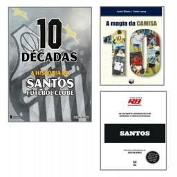 Kit Santos Futebol Clube  3 Livros