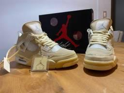 Tênis Nike Air Jordan 4 Retro Off-white