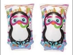 Título do anúncio: Boia Braço Infantil Jungle Trek Pinguim 5 /12 Anos - Bestway