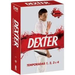 Box de Dvds Dexter 1ª a 4ª Temporadas (16 discos), novo, original e lacrado