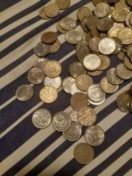 Vendo milhares de moedas antigas