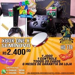 Anubis Games: XBOX one X seminovo a pronta entrega somente na melhor loja!