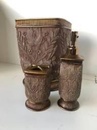 Kit para Banheiro Rustico