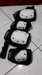 kit proteção traxart pro skate