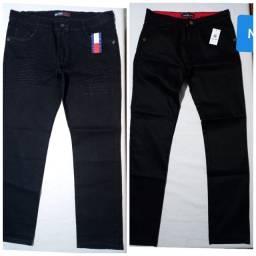 CalçaJeans Brim Sarja Masculina Slim C/ Lycra! (36°) ao (48°).