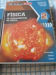 Box de Livros Fundamentos da Física 2 MODERNA PLUS