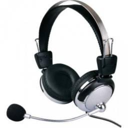 Fone Microfone Headset P/ Computador Notebook Gamer Celular
